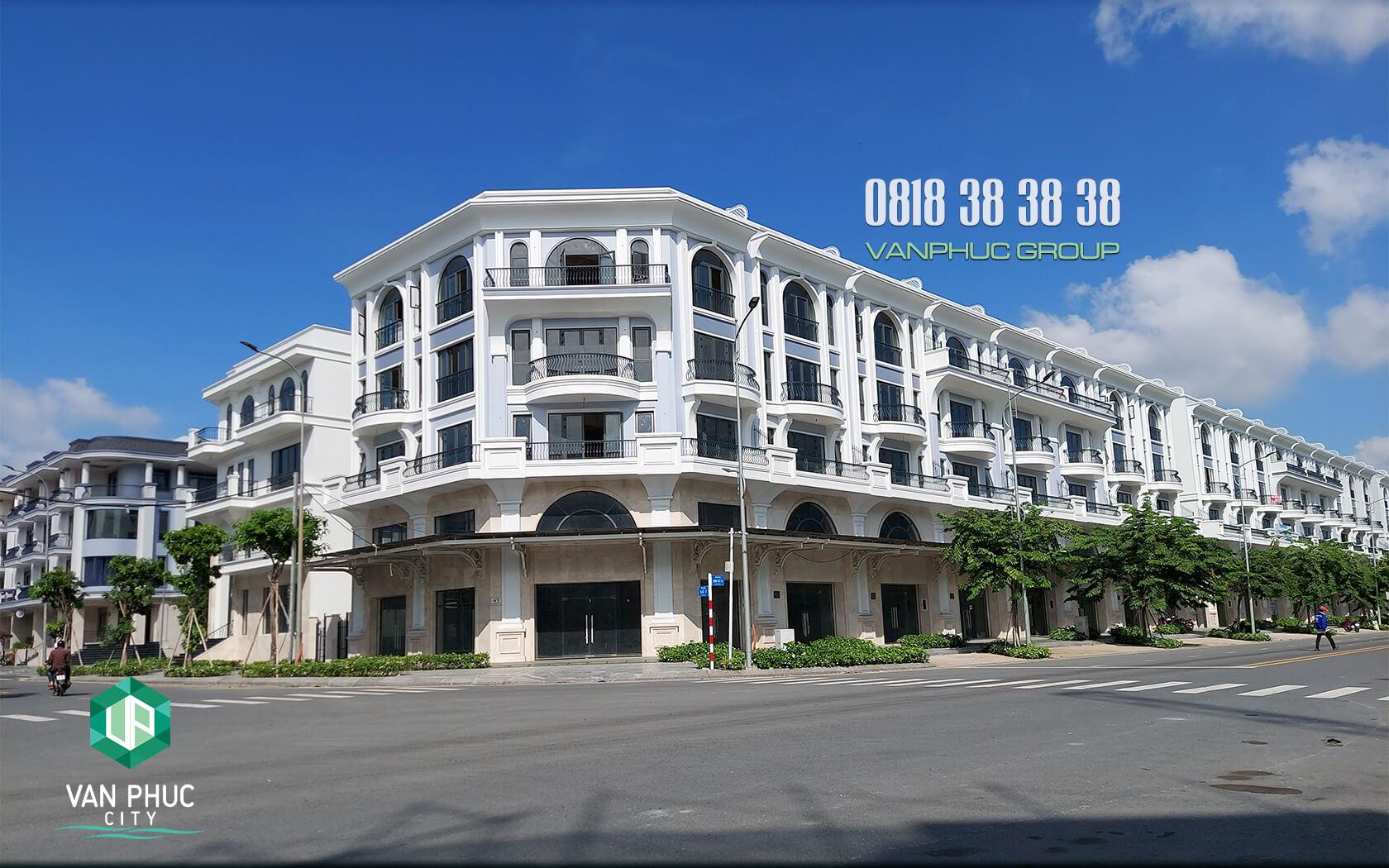 Tin chuyển nhượng nhà phố Van Phuc City Thủ Đức Golden Block P5 mới nhất