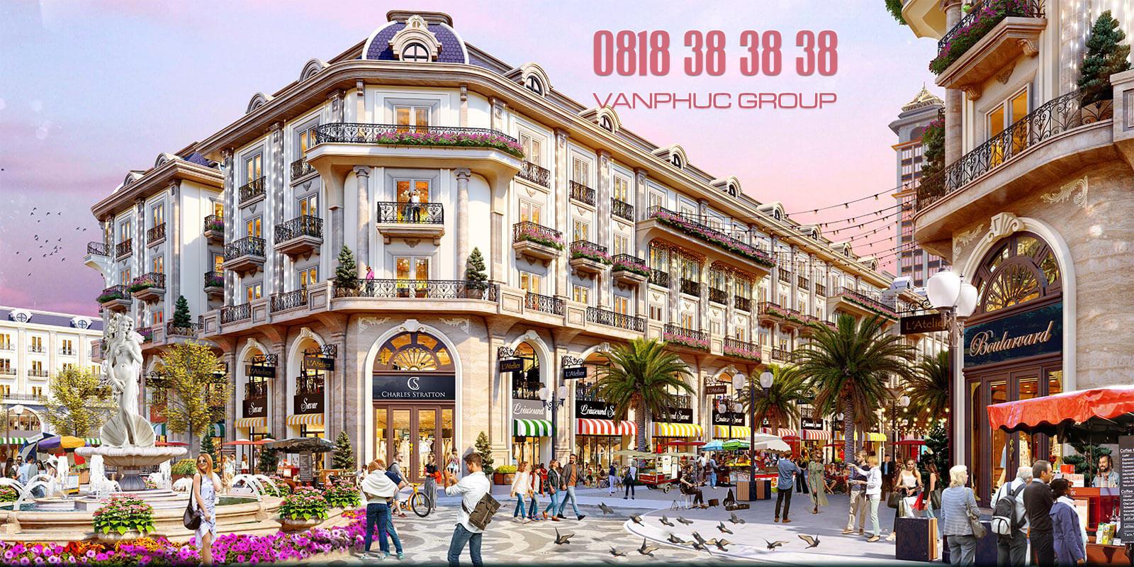Tin chuyển nhượng nhà phố Van Phuc Royal thương mại mới nhất 2021