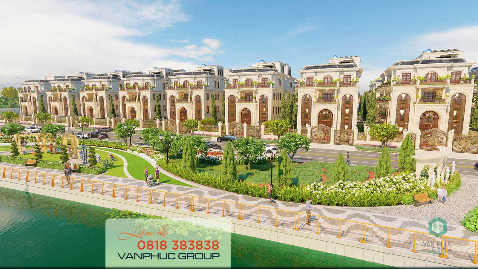 Tin mở bán: Trải nghiệm mẫu nhà siêu biệt thự Jardin Villas Van Phuc City