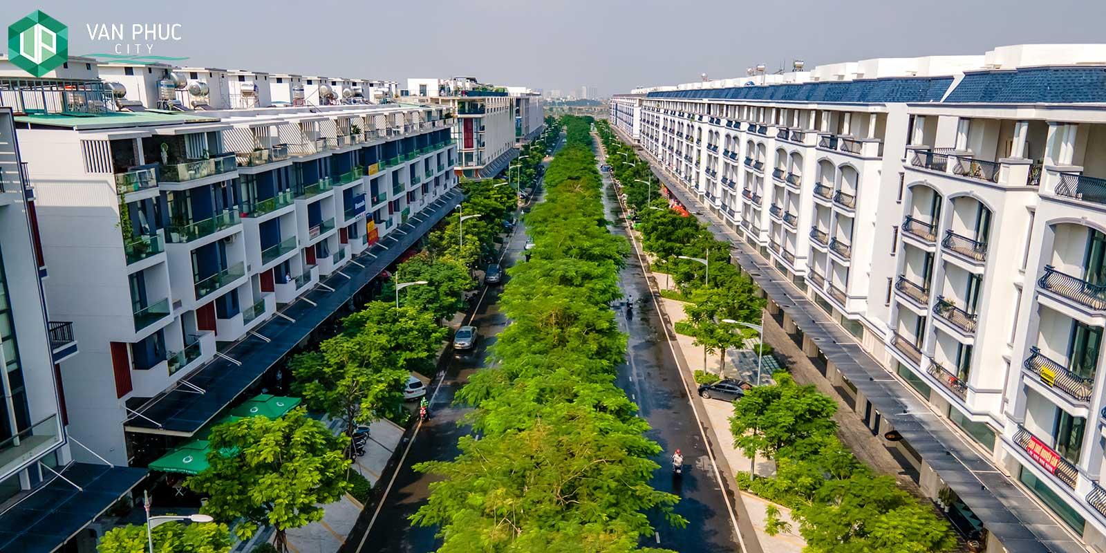 Trải nghiệm mảng xanh vượt trội tại Van Phuc City Thành phố Thủ Đức