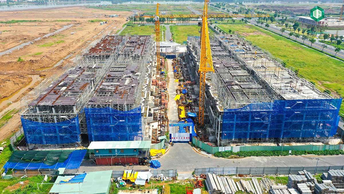 Sunlake Villas Van Phuc City: Cập nhật tiến độ xây dựng tháng 8/2021